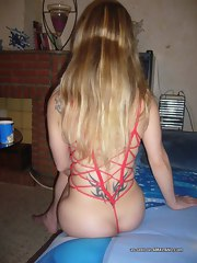 Sizzling hot picture compilation of a wild amateur housewife posing kinky