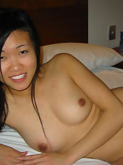 Hot and sexy Singaporean GFs posing naked