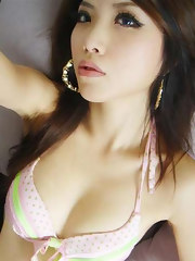 Picture collection of an Asian hottie camwhoring