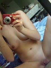 Topless Asian amateur chicks