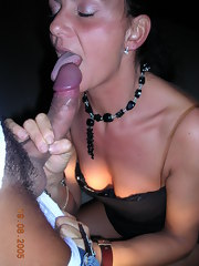 Captivating MILF Caterina hungry for cock inside her mouth