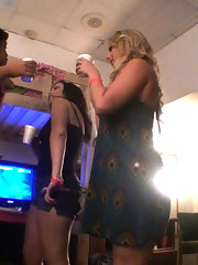 Watch these 3 sexy giant scoops college honeys get banged and cumfaced in these college dorm parties