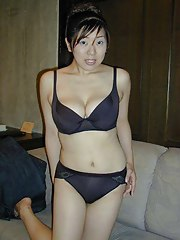 Nice selection of charming dilettante sexy Asian girlfriends
