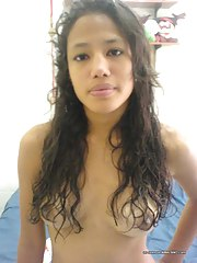 Hot gallery of an amateur hawt Spanish cutie's selfpics