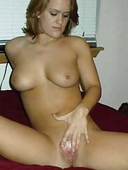 Nice collection of non-professional kinky chicks pussy-playing
