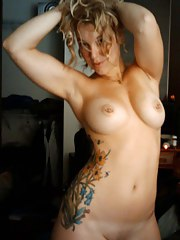 Gallery of an amateur wild bare tattooed scene girlfriend