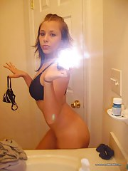 Hot nasty amateur cutie selfshooting