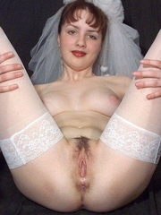 All kind of babes just for the sake of spending one more hot wedding sex. Pretty babes in wedding costume are so romantic and hot