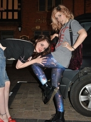 Hawt cuties in leggings