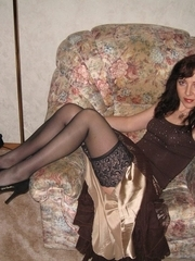 gal in nylons