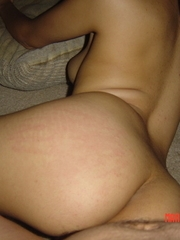 non-professional latina milf with white fellows