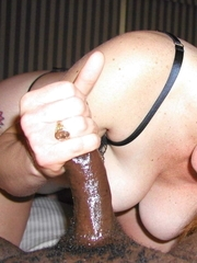 non-professional interracial handjob