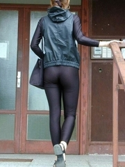 Hot beauties in leggings