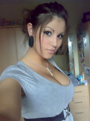 Pictures of various heavy-chested amateur chicks