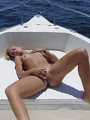 Hawt and kinky MILF got wild on a yacht