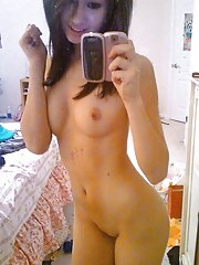 Photo gallery of a sexy horny perverted amateur Asian cutie's hot selfpics
