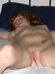 Cute redhead gets her mouth fucked in a kinky blowjob session