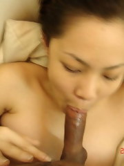 A compilation of hot Asian babes sucking cock