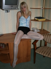 hotty in nylons