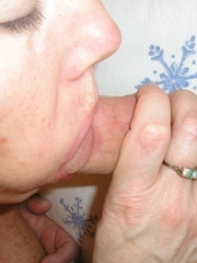 Hot blowjobs from a spruce mature houswife