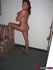 Pics of stripped wives and MILFs